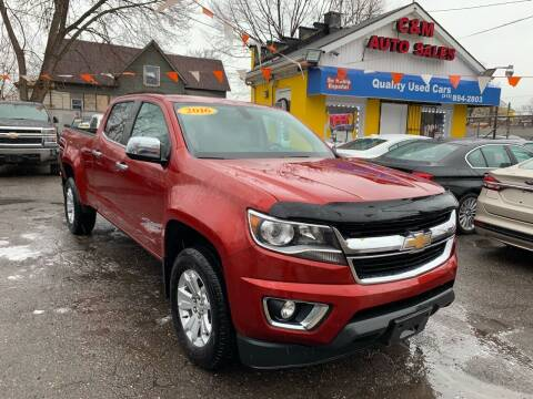 2016 Chevrolet Colorado for sale at C & M Auto Sales in Detroit MI