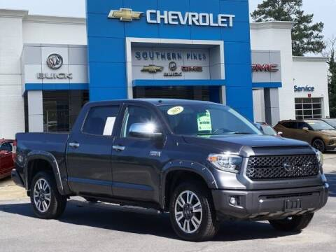2019 Toyota Tundra for sale at PHIL SMITH AUTOMOTIVE GROUP - SOUTHERN PINES GM in Southern Pines NC