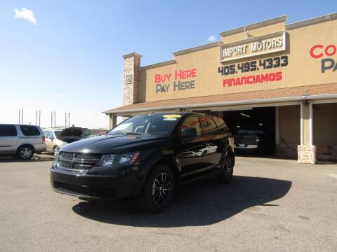 2018 Dodge Journey for sale at Import Motors in Bethany OK