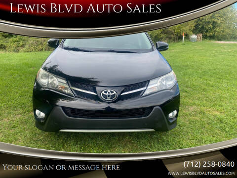 2013 Toyota RAV4 for sale at Lewis Blvd Auto Sales in Sioux City IA