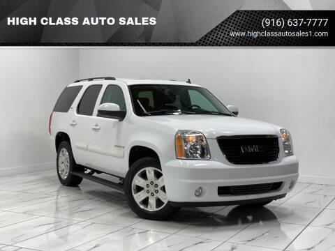 2007 GMC Yukon for sale at HIGH CLASS AUTO SALES in Rancho Cordova CA