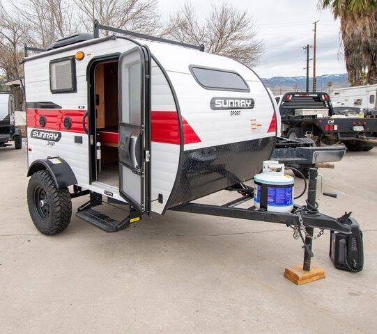 2021 SUNSET PARK RV SUNRAY 109 for sale at GQC AUTO SALES in San Bernardino CA