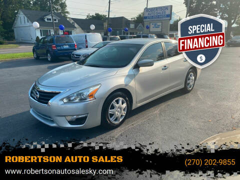 2013 Nissan Altima for sale at ROBERTSON AUTO SALES in Bowling Green KY