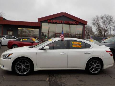 2011 Nissan Maxima for sale at Super Service Used Cars in Milwaukee WI