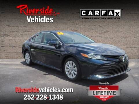 2020 Toyota Camry for sale at Riverside Mitsubishi(New Bern Auto Mart) in New Bern NC
