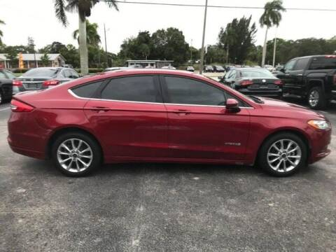 2017 Ford Fusion Hybrid for sale at Denny's Auto Sales in Fort Myers FL