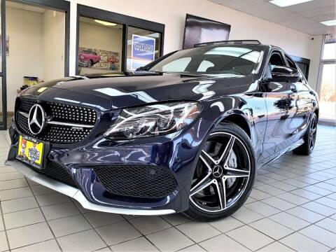 2017 Mercedes-Benz C-Class for sale at SAINT CHARLES MOTORCARS in Saint Charles IL