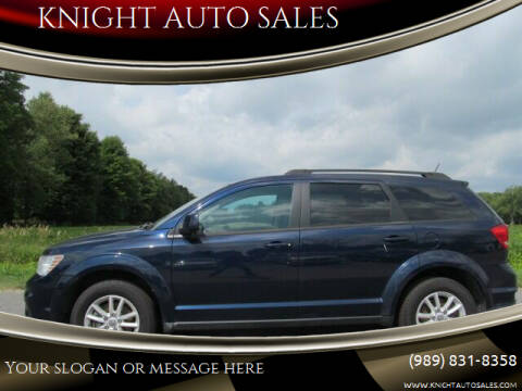 2017 Dodge Journey for sale at KNIGHT AUTO SALES in Stanton MI