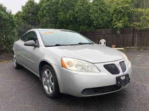 2006 Pontiac G6 for sale at Elwan Motors in West Long Branch NJ