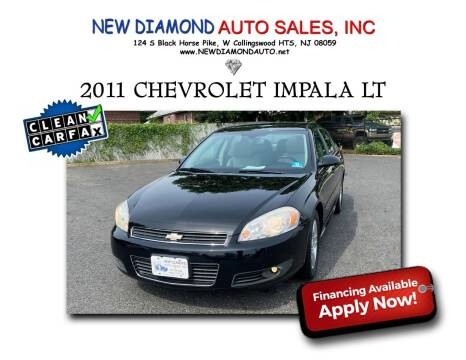 2011 Chevrolet Impala for sale at New Diamond Auto Sales, INC in West Collingswood Heights NJ