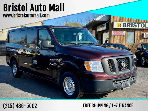 2014 Nissan NV Cargo for sale at Bristol Auto Mall in Levittown PA