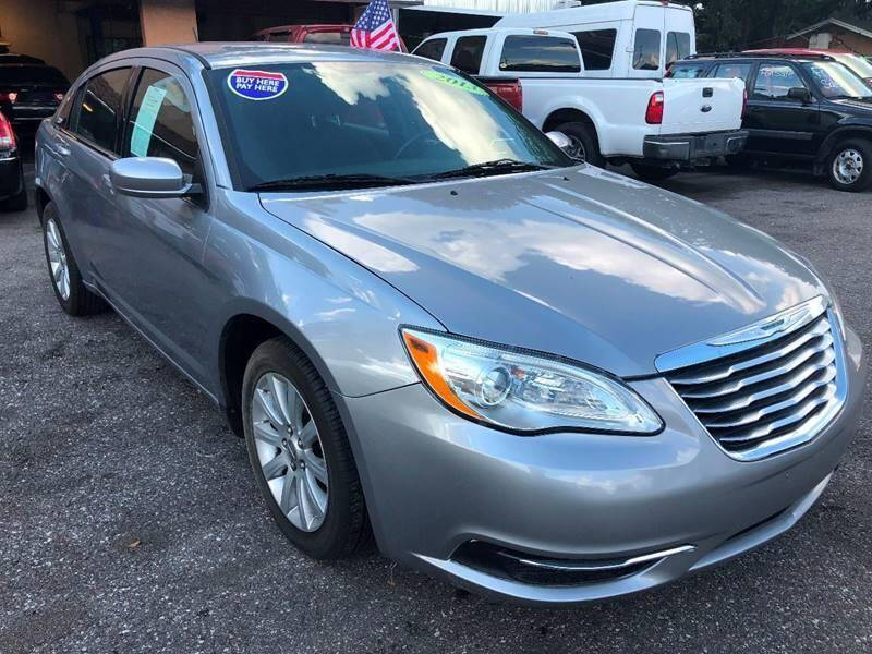 2013 Chrysler 200 for sale at Gold Motors Auto Group Inc in Tampa FL