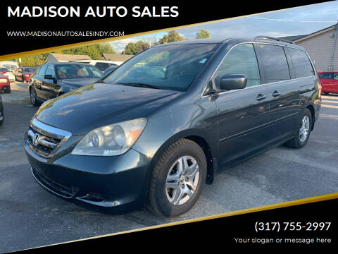 2005 Honda Odyssey for sale at MADISON AUTO SALES in Indianapolis IN