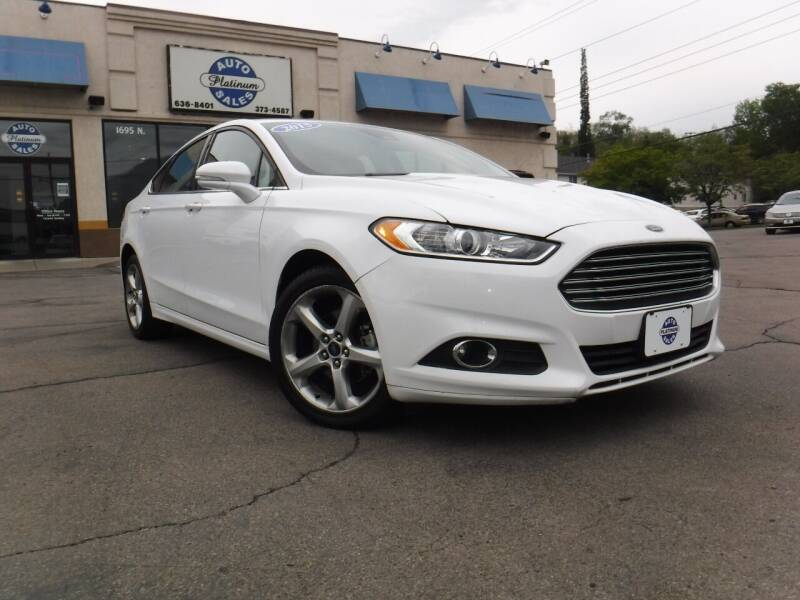 2016 Ford Fusion for sale at Platinum Auto Sales in Provo UT