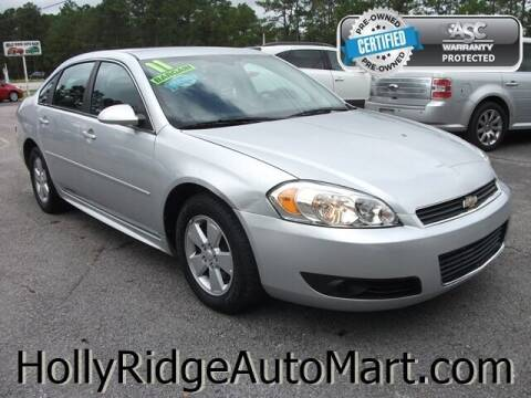 2011 Chevrolet Impala for sale at Holly Ridge Auto Mart in Holly Ridge NC