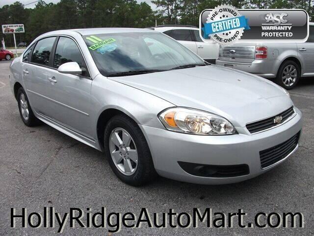 2011 Chevrolet Impala for sale at Holly Ridge Auto Mart in Holly Ridge NC