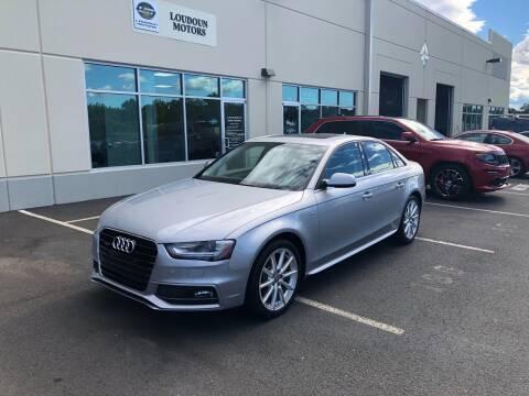 2016 Audi A4 for sale at Loudoun Motors in Sterling VA