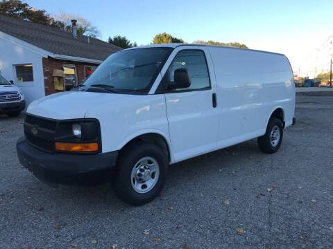 2011 Chevrolet Express Cargo for sale at J.W.P. Sales in Worcester MA