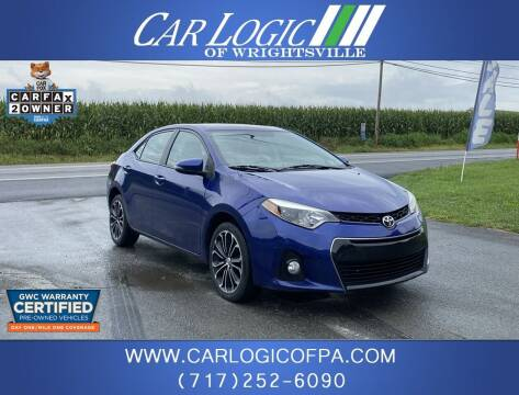 2014 Toyota Corolla for sale at Car Logic in Wrightsville PA