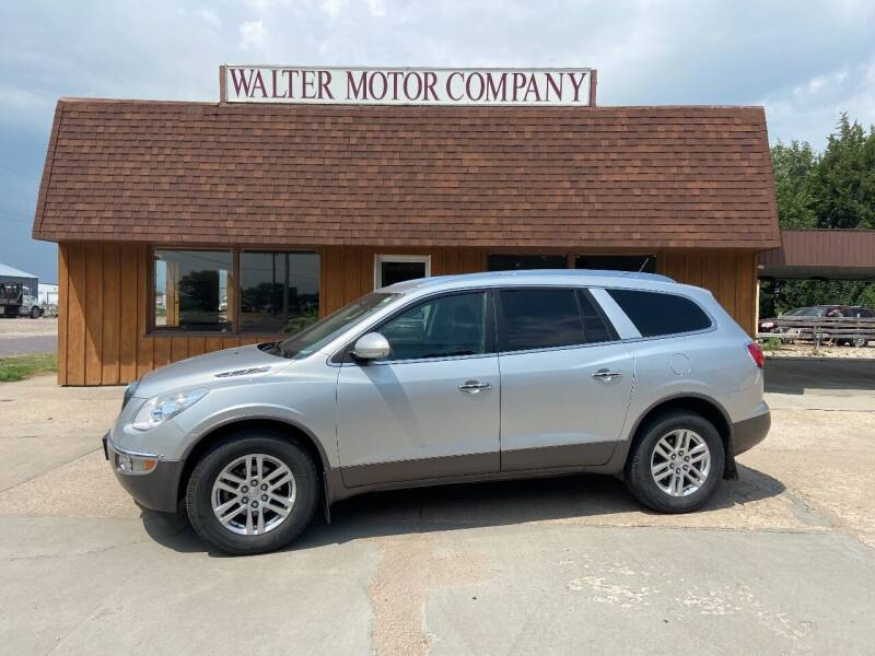 2012 Buick Enclave for sale at Walter Motor Company in Norton KS