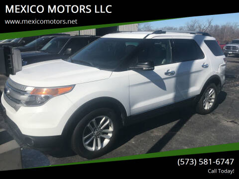 2013 Ford Explorer for sale at MEXICO MOTORS LLC in Mexico MO