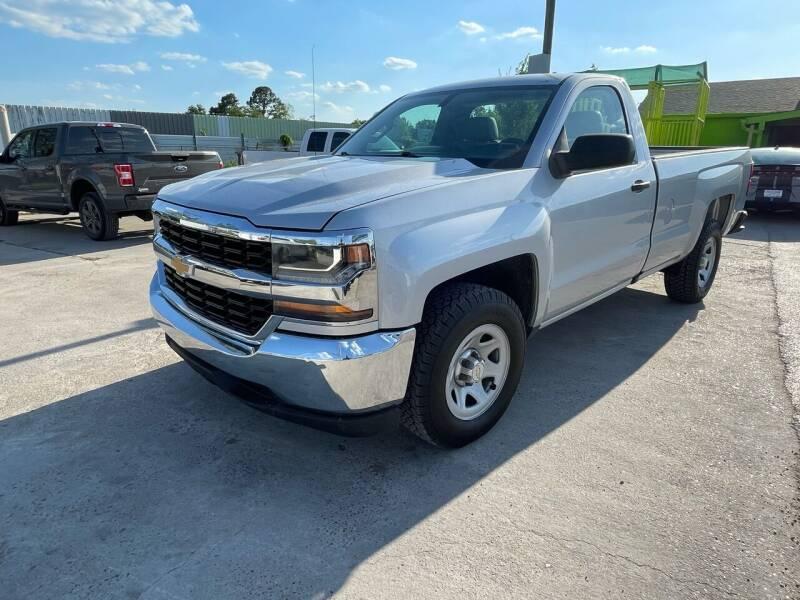 2017 Chevrolet Silverado 1500 for sale at RODRIGUEZ MOTORS CO. in Houston TX
