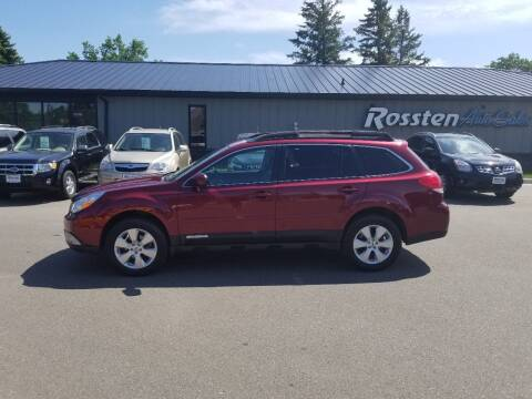 2012 Subaru Outback for sale at ROSSTEN AUTO SALES in Grand Forks ND