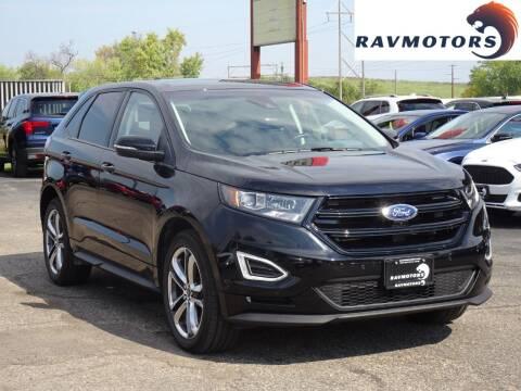 2017 Ford Edge for sale at RAVMOTORS in Burnsville MN