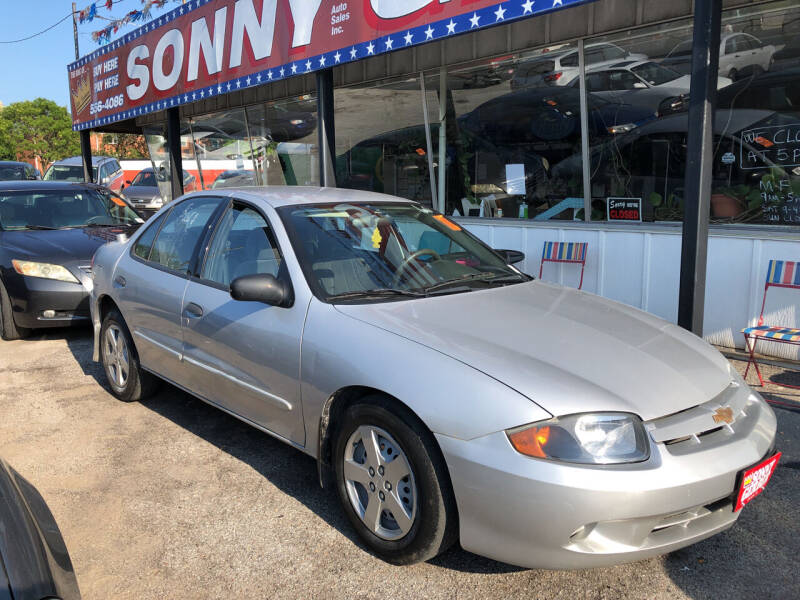 2004 Chevrolet Cavalier for sale at Sonny Gerber Auto Sales in Omaha NE