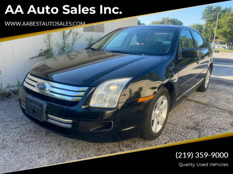 2006 Ford Fusion for sale at AA Auto Sales Inc. in Gary IN