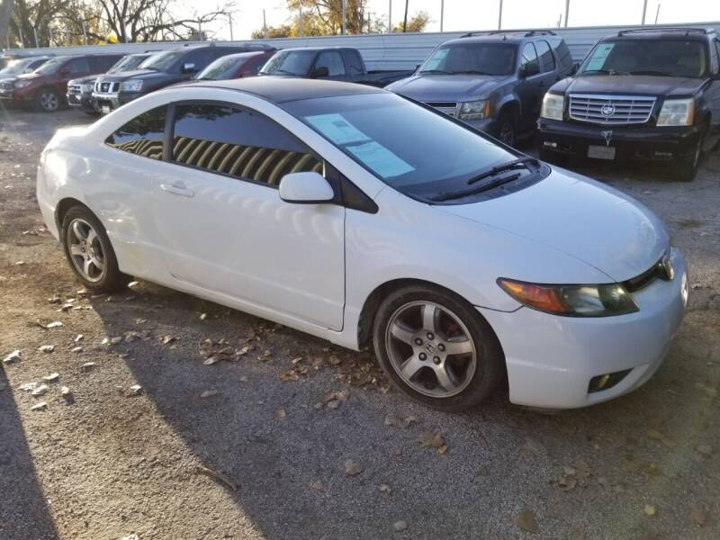 2007 Honda Civic LX 2dr Coupe (1.8L I4 5A) - Dallas TX