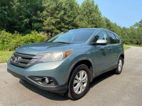 2012 Honda CR-V for sale at Carrera AutoHaus Inc in Clayton NC