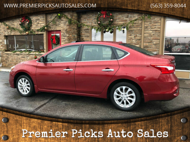 2017 Nissan Sentra for sale at Premier Picks Auto Sales in Bettendorf IA