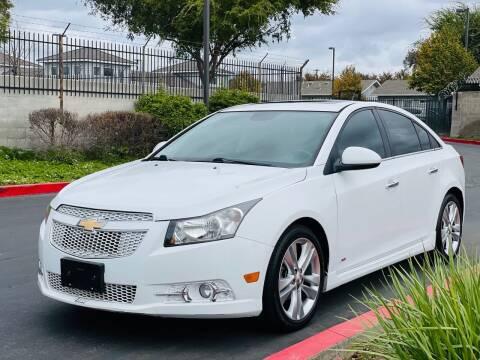 2014 Chevrolet Cruze for sale at United Star Motors in Sacramento CA