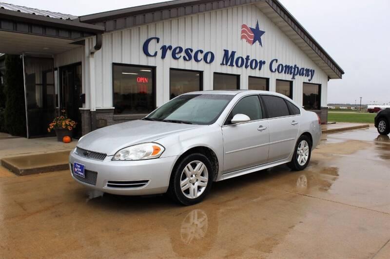 2014 Chevrolet Impala Limited for sale at Cresco Motor Company in Cresco IA