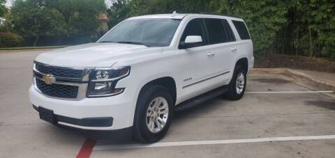 2017 Chevrolet Tahoe for sale at Motorcars Group Management - Bud Johnson Motor Co in San Antonio TX