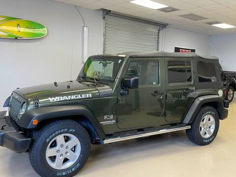 2009 Jeep Wrangler Unlimited for sale at Jeep and Truck USA in Tampa FL