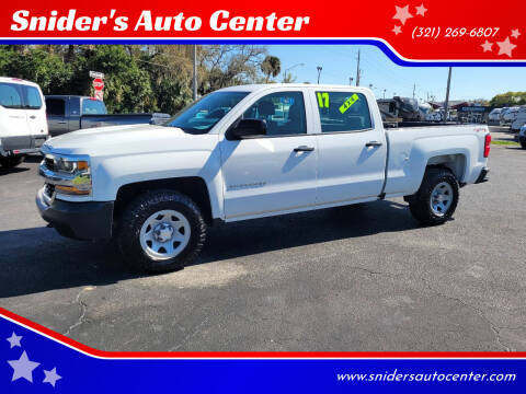 2017 Chevrolet Silverado 1500 for sale at Snider's Auto Center in Titusville FL