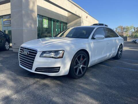 2013 Audi A8 L for sale at AutoHaus in Colton CA
