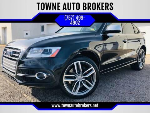 2015 Audi SQ5 for sale at TOWNE AUTO BROKERS in Virginia Beach VA
