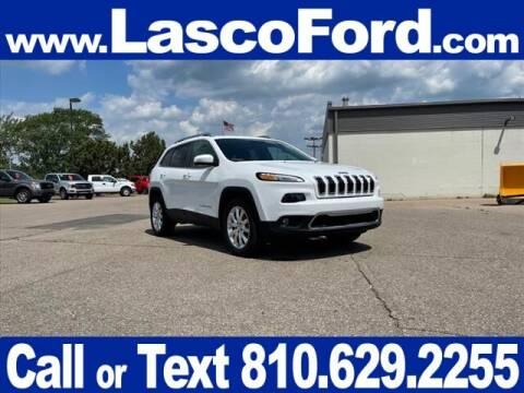 2016 Jeep Cherokee for sale at LASCO FORD in Fenton MI