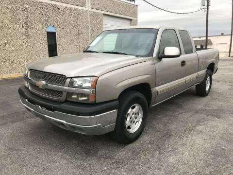 2001 Chevrolet Silverado 1500 for sale at Evolution Motors LLC in Dallas TX