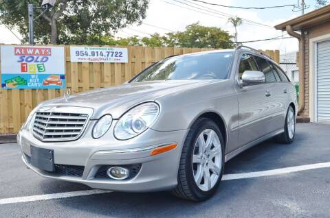 2008 Mercedes-Benz E-Class for sale at ALWAYSSOLD123 INC in Fort Lauderdale FL