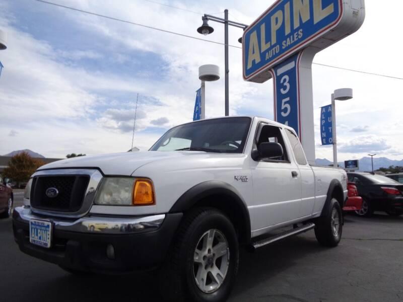 2004 Ford Ranger for sale at Alpine Auto Sales in Salt Lake City UT
