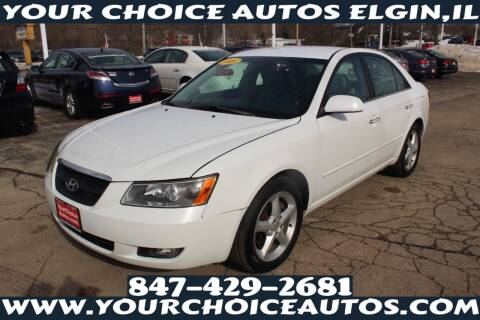 2006 Hyundai Sonata for sale at Your Choice Autos - Elgin in Elgin IL
