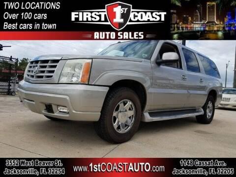 2004 Cadillac Escalade ESV for sale at 1st Coast Auto -Cassat Avenue in Jacksonville FL