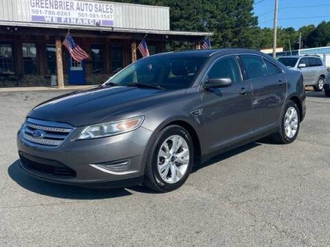 2012 Ford Taurus for sale at Greenbrier Auto Sales in Greenbrier AR