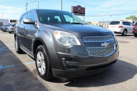 2011 Chevrolet Equinox for sale at B & B Car Co Inc. in Clinton Township MI