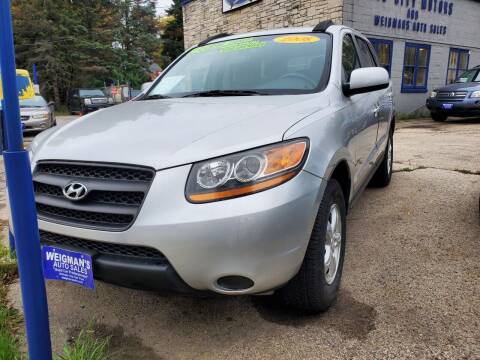 2008 Hyundai Santa Fe for sale at Weigman's Auto Sales in Milwaukee WI