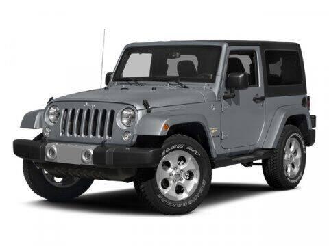 2014 Jeep Wrangler for sale at SCOTT EVANS CHRYSLER DODGE in Carrollton GA